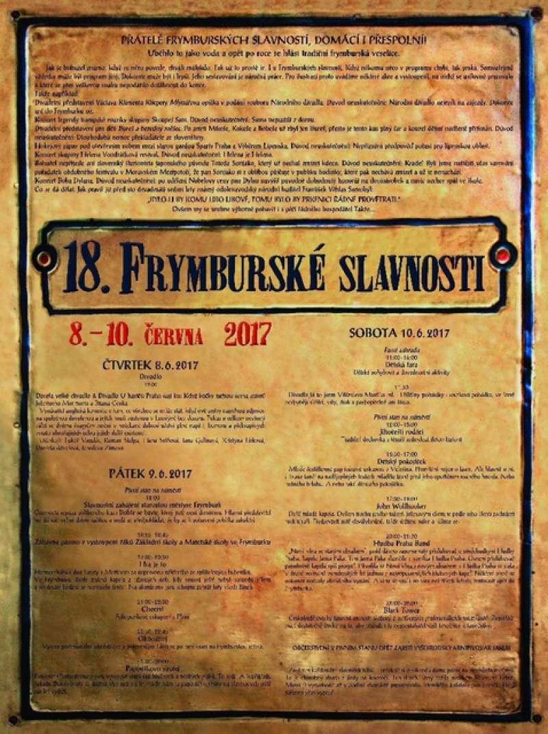 FRYMBURSKÉ SLAVNOSTI
